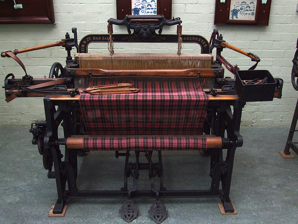 Queen Street Mill - Loom Hattersley Domestic 5443L