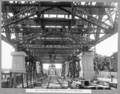 Queensland State Archives 3483 Steel approach view looking north under steelwork Brisbane 29 January 1937.png