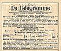 Réclame Le Télégramme de Toulouse-1921.jpg