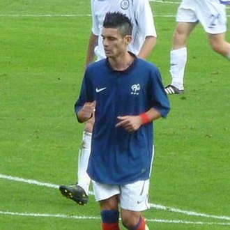 Rémy Cabella - Cabella playing for France U21 in 2011