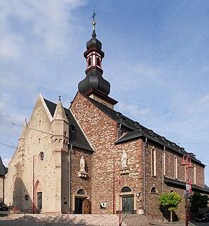 St. Jakobus, Rüdesheim Church in Hesse, Germany
