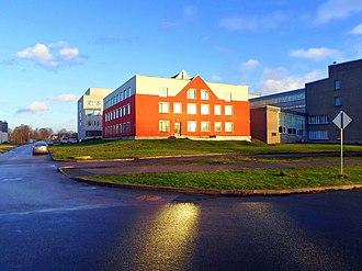 Riga Technical University - Image: Rīgas tehniskās universitātes zinātniskā bibliotēka. Scientific library of Rīga Technical University. November, 2013 panoramio