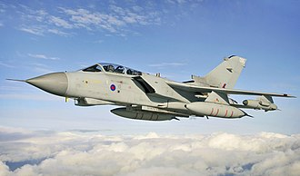Panavia Tornado - A Tornado GR4 on a training sortie over North West England