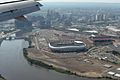 RED BULL ARENA NEWARK FROM 757 N17139 CONTINENTAL AIRLINES FLIGHT CDG-EWR (16436516356).jpg