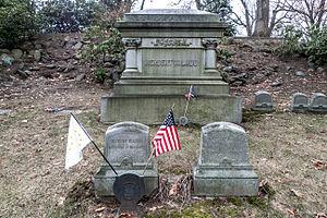 Herbert W. Ladd - Herbert W Ladd Grave in Swan Point Cemetery, Providence.