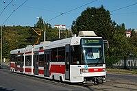 Tramvaj Tatra RT6N1 v Brně
