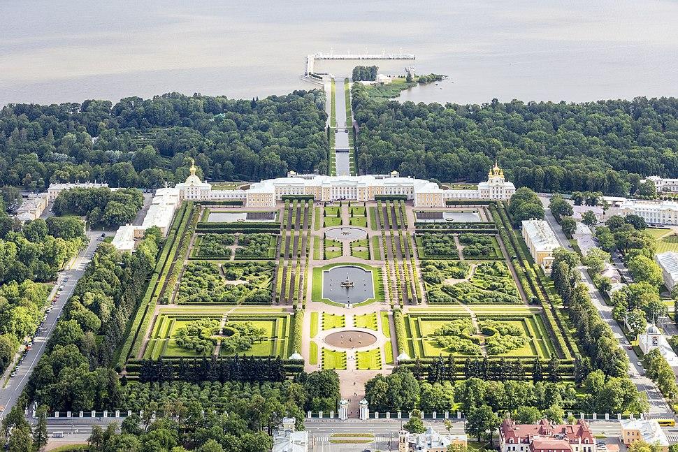 RUS-2016-Aerial-SPB-Peterhof Palace 02