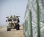 Raf regiment foxhound vehicle on patrol at Camp Bastion.fwx.jpg