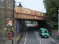 Railway Bridge at Wandsworth Town Station. - geograph.org.uk - 1554673.jpg