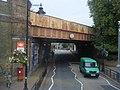 Railway Bridge at Wandsworth Town Station. - geograph.org.uk - 1554673.jpg