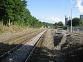 Railway North of Chirk Station - geograph.org.uk - 906708.jpg