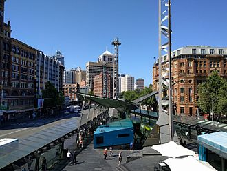 Railway Square, Sydney - Railway Square in 2016.