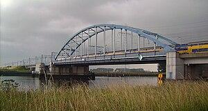 Canal through Zuid-Beveland - Railroad bridge over the Canal through Zuid-Beveland