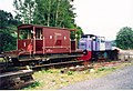 Railway engine and Guard's Van - geograph.org.uk - 260425.jpg