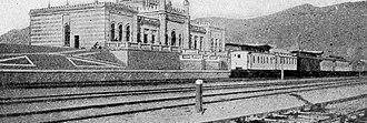 Türkmenbaşy, Turkmenistan - Railway station in Krasnovodsk, 1902