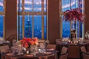 Rona glassworks - RONA Glass in the Rainbow Room, Rockefeller Center, NYC, 2015.