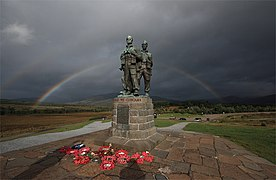 Rainbow Warriors (2) - Commando Memorial, Spean Bridge - geograph.org.uk - 967265.jpg