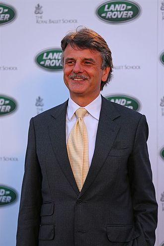 Ralf Speth - Ralf Speth at the unveiling of the 2012 Range Rover