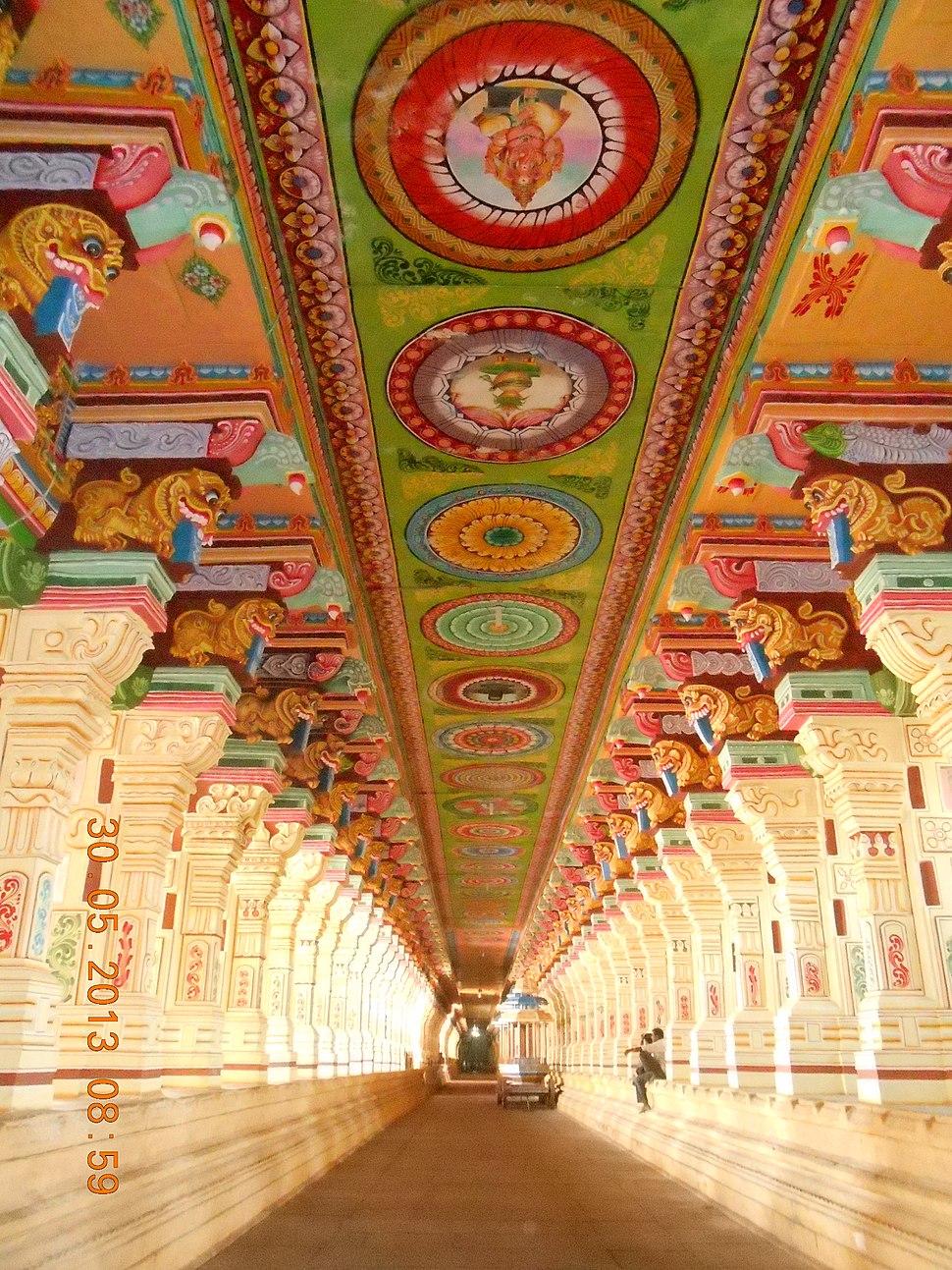 Ramanathaswamy temple corridor