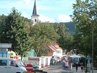 Rattersdorf Village in Burgenland, Austria