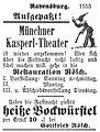 Ravensburg Fastnacht 1888 Kasperl-Theater.jpg
