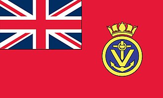 Red Ensign - Image: Red Ensign of the Maritime Volunteer Service