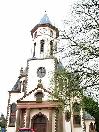 Redange - Redange church