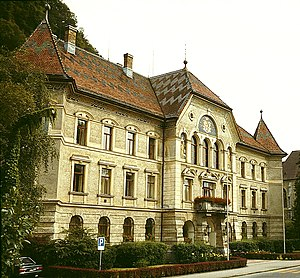 Regierungsgebäude (Government Building), Vaduz...