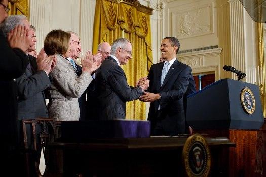 Reid and Obama 3.30.09