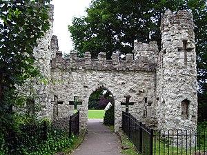 Reigate Castle - Image: Reigate Castle 002