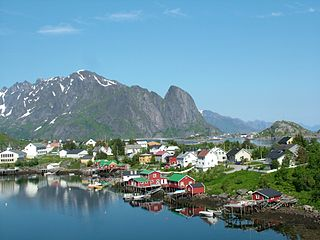 Moskenes Municipality in Nordland, Norway