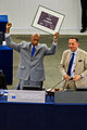 Remise prix Sakharov 2010 Guillermo Fariñas Strasbourg Parlement européen 3 juillet 2013 02.jpg