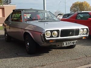 Renault 15 and 17 - Renault 17 coupé (1976–1979)