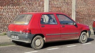 Renault Clio - Phase 1 Clio (1990-1993)