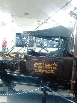 Ernest Holmes Sr. - Image: Replica of Ernest Holmes Co Wrecker