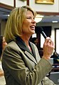 Representative Debbie Mayfield offers debate during consideration of a measure on the Florida House floor.jpg