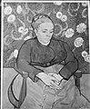 Reproductie van een schilderij (La Berceuse) van Van Gogh, Bestanddeelnr 252-1885.jpg