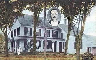 Poland, Maine - Image: Residence of Gov. Bert M. Fernald, West Poland, ME