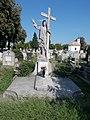 Resurrection grave memorial by Lajos Krasznai, 2020 Marcali.jpg