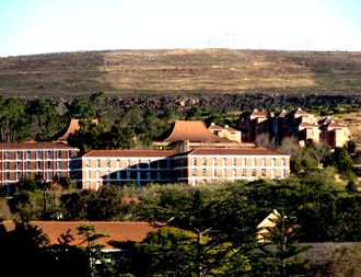 Rhodes University - Kimberley Hall is currently one of nine halls on campus.