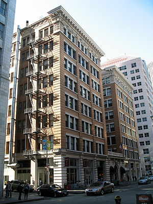New Montgomery Street - Image: Rialto Building, 116 New Montgomery St., San Francisco, CA 2 4 2012 3 23 24 PM