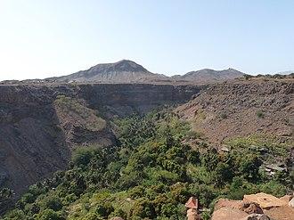 Ribeira Grande de Santiago (stream) - The valley of Ribeira Grande de Santiago