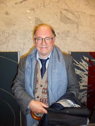 Richard Holmes (biographer) - Image: Richard Holmes