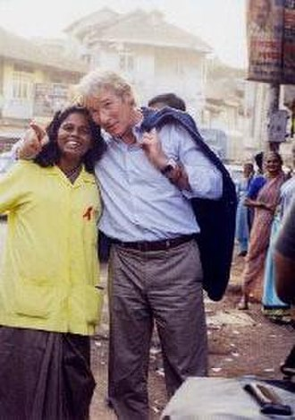 "Richard Gere - Gere visits USAID HIV/AIDS ""Operation Lighthouse"" Project in Mumbai."