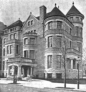 Richardson Clover - Richardson Clover residence in Washington, D.C., from an 1897 magazine article