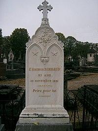 Rimbaud - tombe à Charleville.jpg