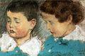 Rippl The two Somssich Children 1918.jpg