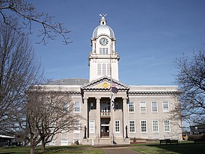Ritchie County, West Virginia - Image: Ritchie County Courthouse