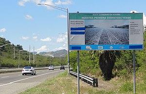 Puerto Rico Highway 10 - PR-10, Puerto Rico's first green road