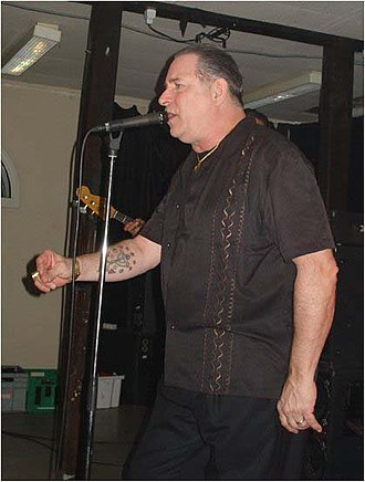 Robert Gordon (musician) - Gordon performing live in Denmark, 2007